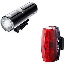 image of Cateye Volt 200 XC / Rapid Micro Bike Light Set