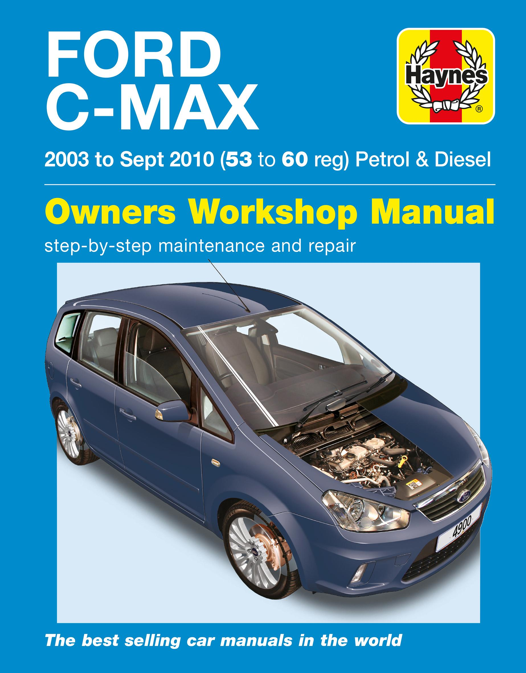 Ford Focus C Max Owners Manual Best User Guides And Manuals 2014 Haynes 03 To10 Rh Halfords Com