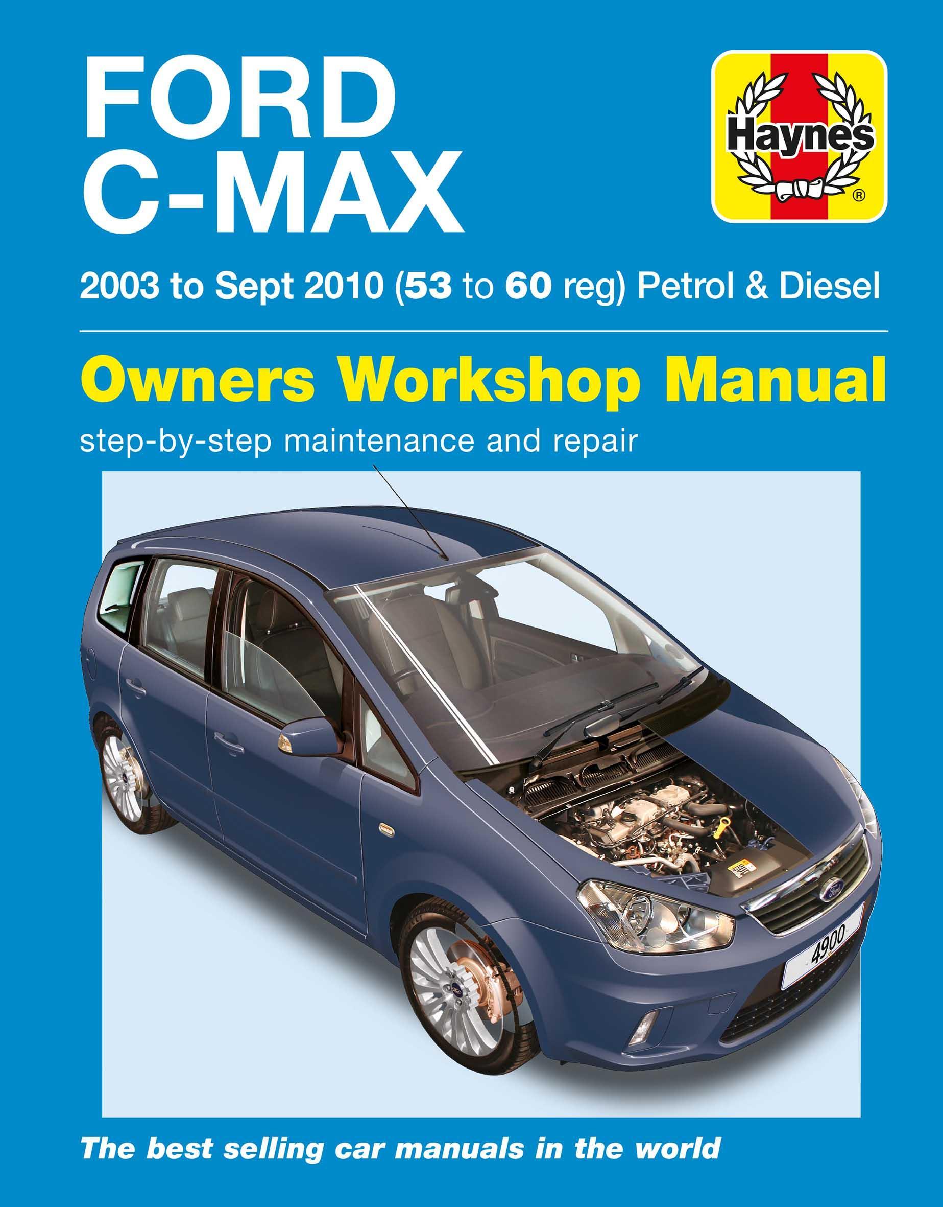 haynes ford c max manual 03 to10 rh halfords com ford focus c max workshop manual pdf ford focus c max service manual pdf