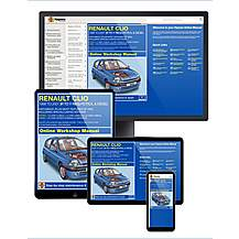 image of Haynes Online Manual Renault Clio 1998-01