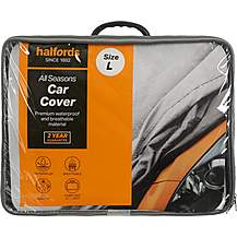 image of Halfords All Seasons Car Cover L