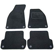 image of Halfords Advanced (SS2100) Audi A4 Car Mats (2006-2008 Not Convertible) BLK
