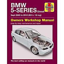 image of Haynes BMW 5 Series (53-10) Manual