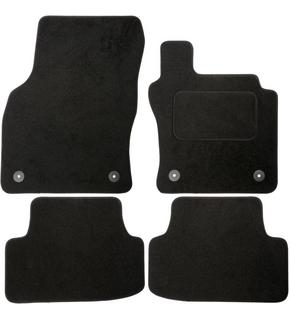 Car Mat Set Connected Essentials Tailored Custom Fit Car Mats for Sirion 2005- Black with Grey Trim