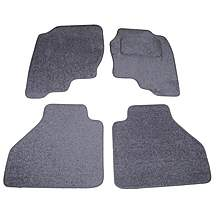 image of Halfords Advanced Fully Tailored (SS2680) Nissan Navara Car Mats (05 - 09) - Black