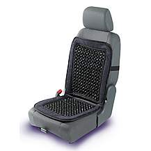 image of Halfords Beaded Seat Cushion - Back Support