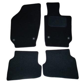 RENAULT LAGUNA Mk1 94-01 PREMIUM Tailored Black Car Floor Mats