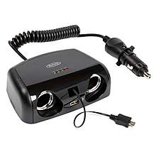 image of Halfords Multisocket 12V USB and Micro USB