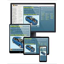 image of Haynes Online Manual Skoda Fabia 2007-14