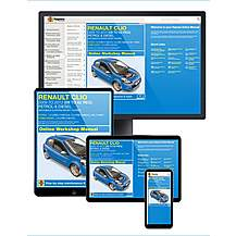image of Haynes Online Manual Renault Clio 2009-12