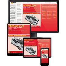 image of Haynes Online Manual Renault Clio 2013-18