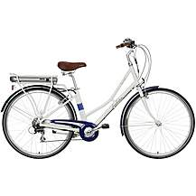 "image of Pendleton Somerby Electric Hybrid Bike - White and Navy - 17"", 19"" Frames"