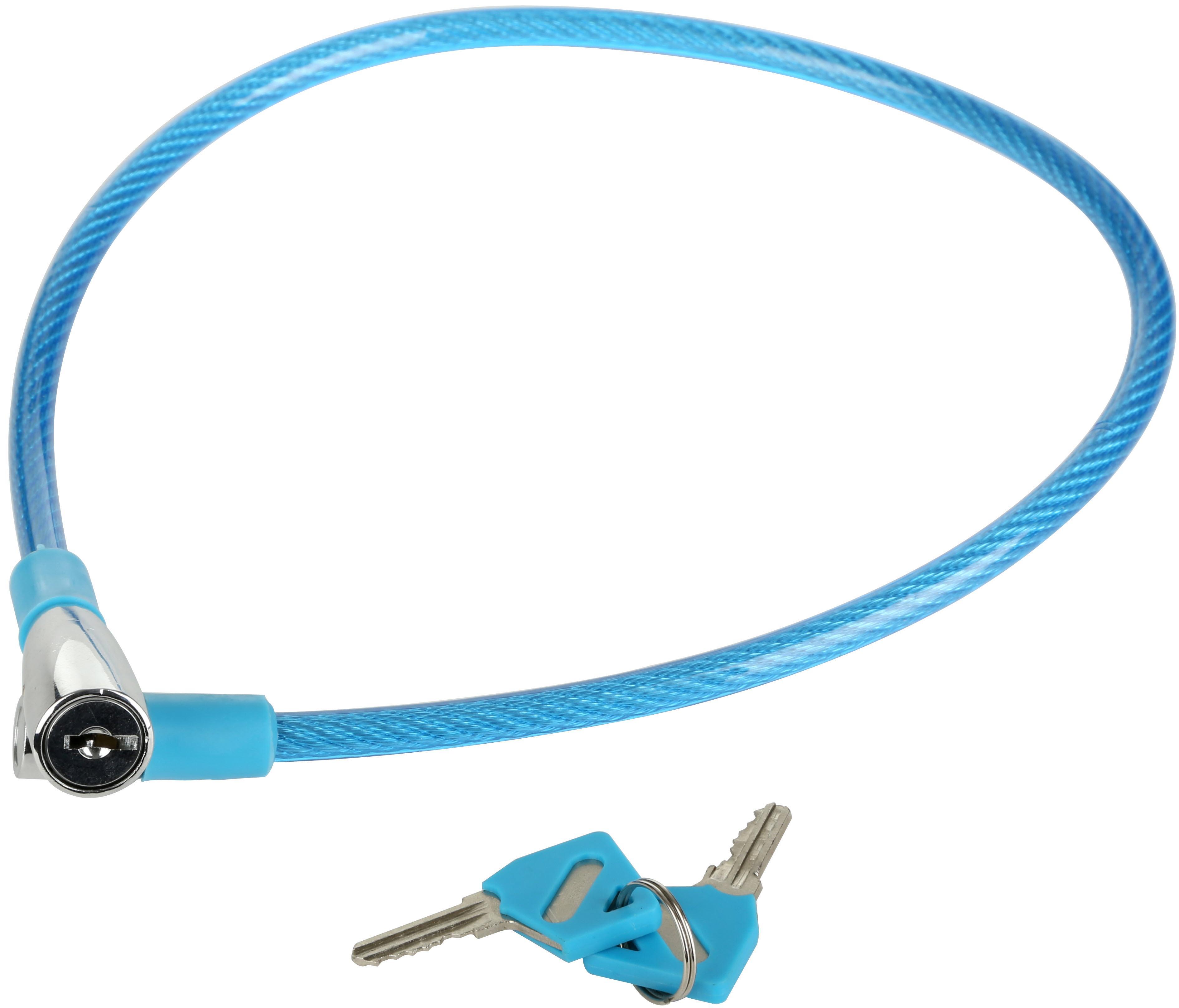 Halfords Essential Kids Bike Lock - Blue