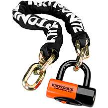 image of Kryptonite NewYork 100cm Chain & S4 Disc Lock