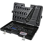image of Halfords Advanced 200 Piece Socket and Ratchet Spanner Set  - Limited Edition Black