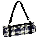 Halfords Waterproof Tartan Picnic Blanket XL
