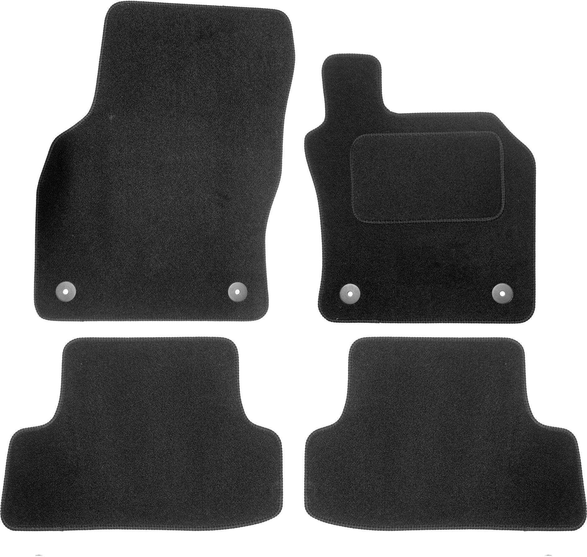 VAUXHALL INSIGNIA 2013 ON TAILORED CAR FLOOR MATS CARPET BLACK MAT BLACK TRIM