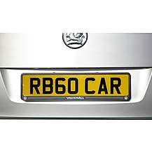 image of Richbrook Vauxhall Number Plate Surround