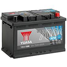 Yuasa 4 Year Guarantee YBX7096 Start/Stop 12V