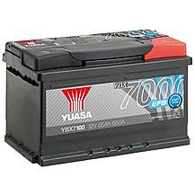 image of Yuasa 4 Year Guarantee YBX7100 Start/Stop 12V EFB Car Battery