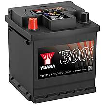 Yuasa 3 Year Guarantee YBX3102 12V SMF Car Ba
