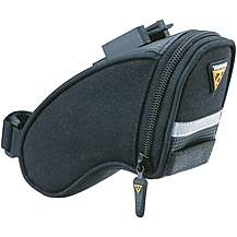 image of Topeak Wedge Bike Saddle Bag with Quickclip - Micro