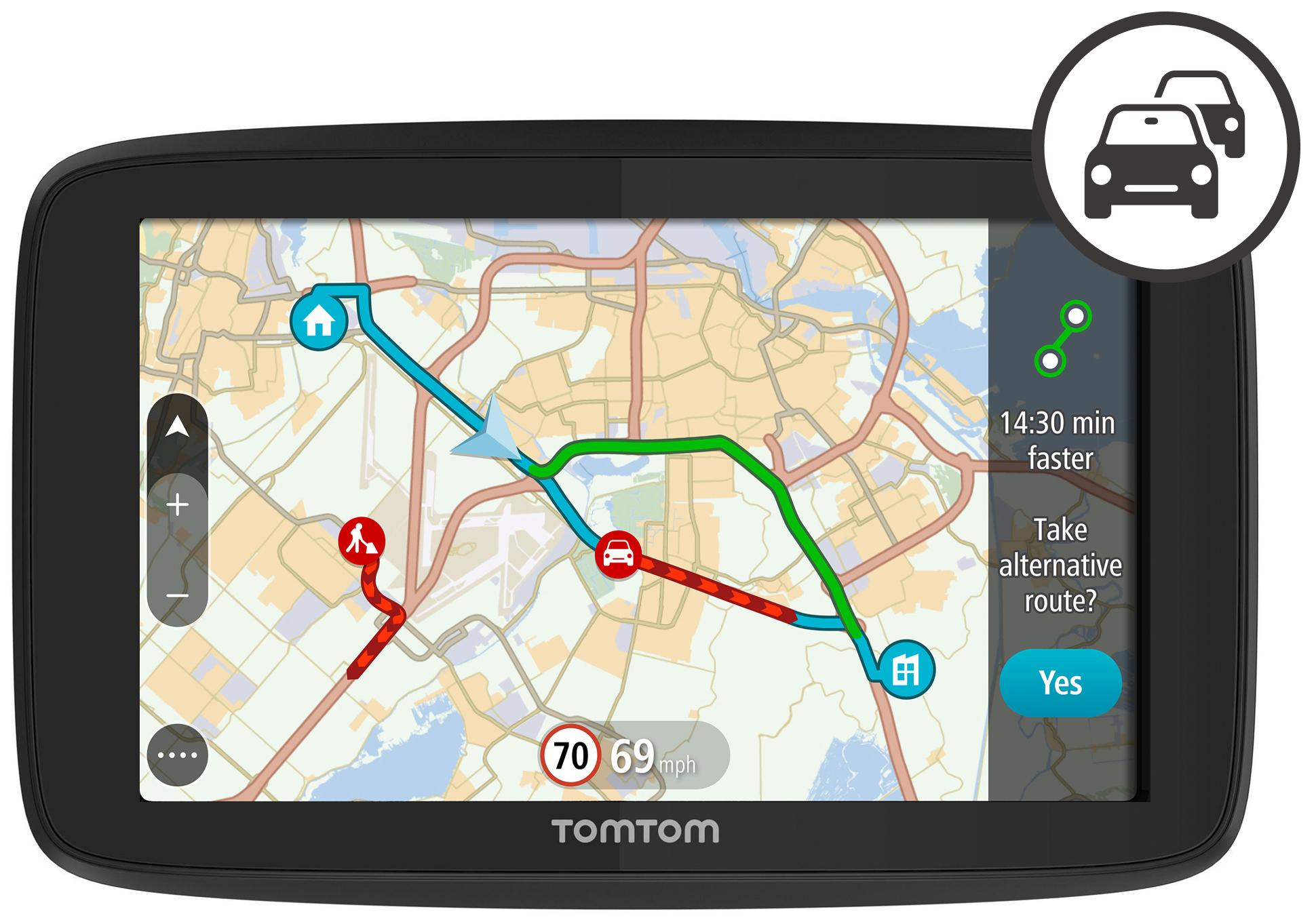 tomtom go 520 with wi fi world map rh halfords com TomTom Get Started TomTom Update