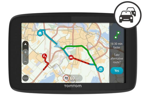 TomTom GO Premium 5 with Wi-Fi, World Maps and smartphone enabled TomTom Traffic
