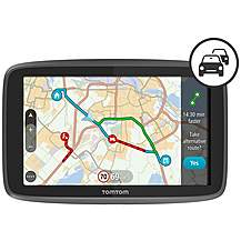 image of TomTom GO 5200 Car Sat Nav with Wi-Fi, Traffic, World Maps, Siri and Google Now integration Ex Display