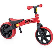 "image of Y Velo Junior Balance Bike - Red - 9"" Wheel"