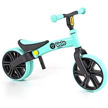 "image of Y Velo Junior Balance Bike - Green - 9"" Wheel"