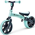 "image of Y Velo Junior Balance Bike - Green - 9"" Wheel"