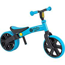 "image of Y Velo Junior Balance Bike - Blue - 9"" Wheel"