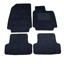 image of Halfords Advanced (SS4421) Renault Clio Car Mats (2009 - 2013 with clips) Black