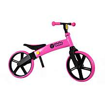 "image of Y Velo Balance Bike - Pink - 12"" Wheel"