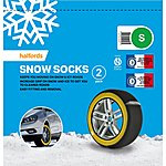 image of Halfords Snow Socks Small