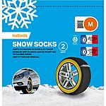 image of Halfords Snow Socks Medium