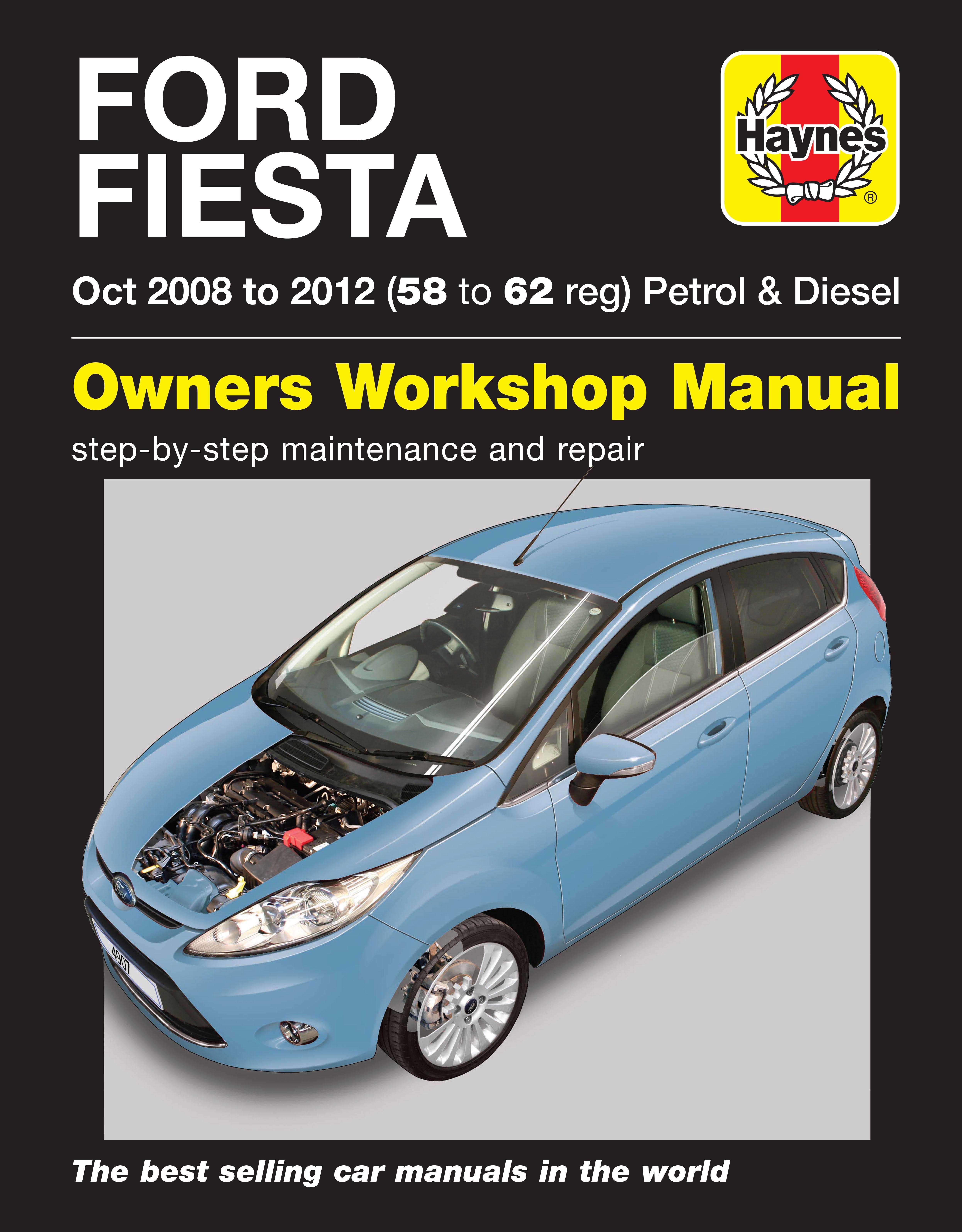 Haynes Manual Ford Fiesta 2011 User Guide That Easy To Read Fuse Box 08 11 Manua Rh Halfords Com Interior