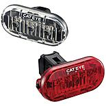 Cateye Omni 3 Front & Rear Bike Light Set