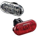 image of Cateye Omni 3 Front & Rear Bike Light Set