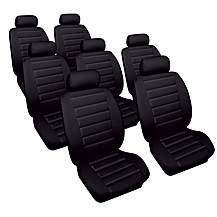 image of Cosmos Leather Look Vauxhall Zafira Car Seat Covers (00-05)