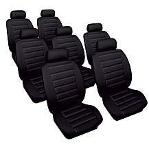 image of Cosmos Soft Leather Look Toyota Previa Car Seat Covers (00-05)