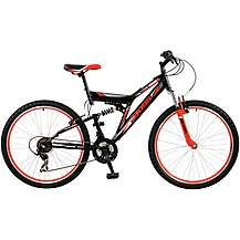 "image of Boss Venom Mens 26"" Steel FS Mountain Bike"