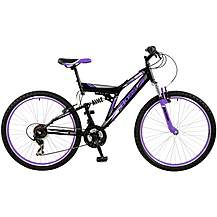 "image of Boss Venom Womens 26"" Steel FS Mountain Bike"