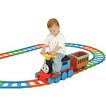 image of Thomas & Friends Battery Operated Ride On Train and Track