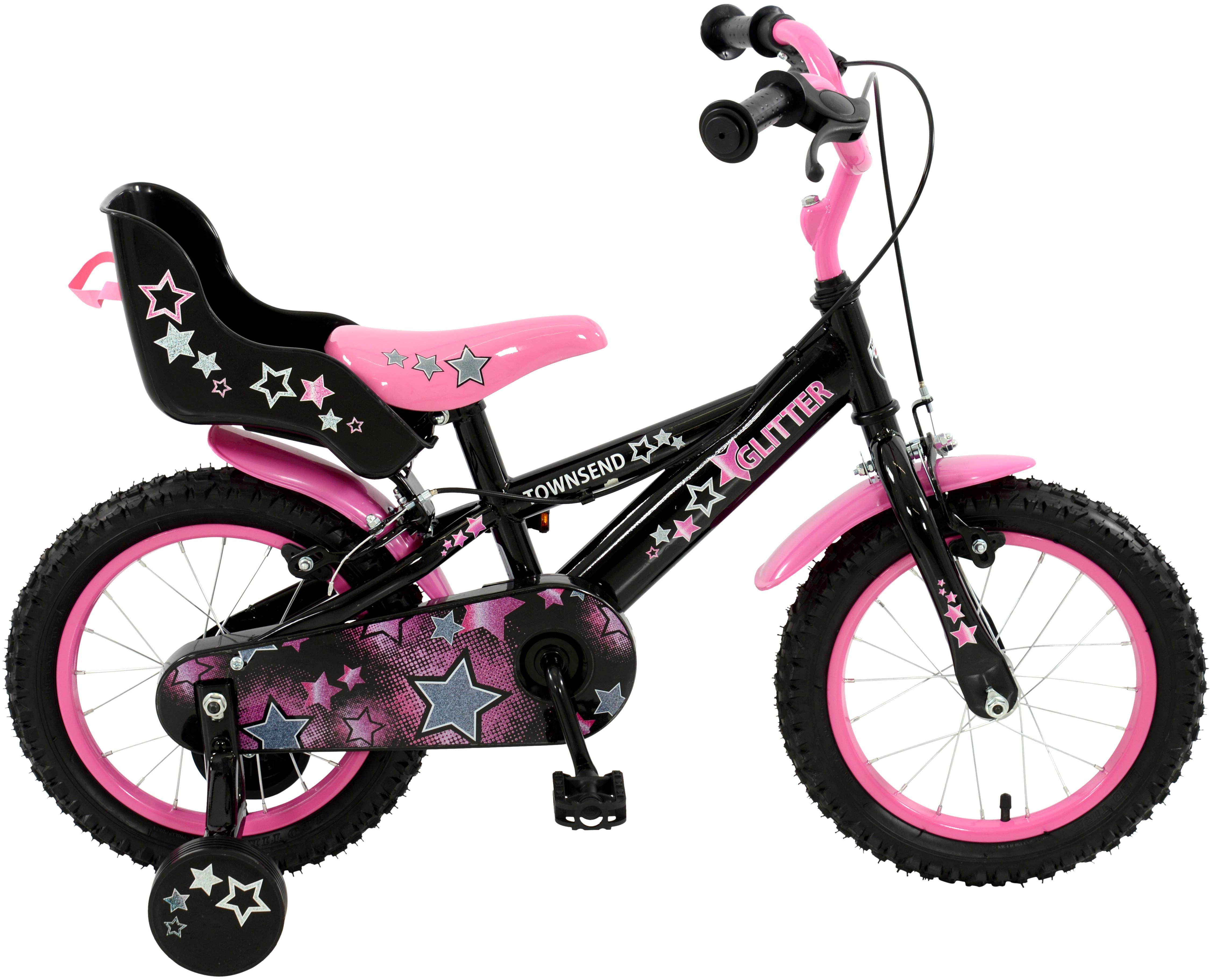 Townsend Glitter Kids Bike - 14 inch Wheel