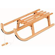 image of Snow Rodel 90 Folding Wooden Sledge