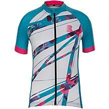 image of Boardman Womens Sport Fit Short Sleeve Cycling Jersey - Floral