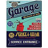 Garage Service & Repair Metal Wall Sign