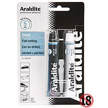 image of Araldite Rapid Steel Tubes 2x 15ml
